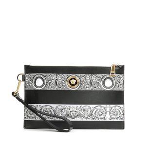 Versace 范思哲美杜莎男士真皮手拿包