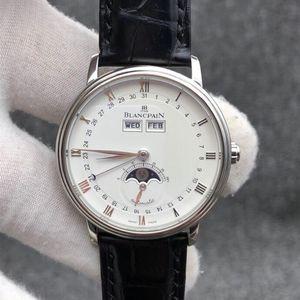 Blancpain 宝珀6263-1127A-55B经典系列自动机械腕表