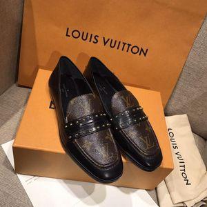 Louis Vuitton 路易·威登新款老花平底鞋