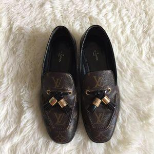 Louis Vuitton 路易·威登老花平底鞋