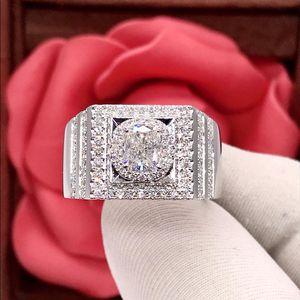钻石18k金男士钻石戒指
