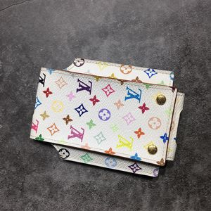 Louis Vuitton 路易·威登白三彩卡包