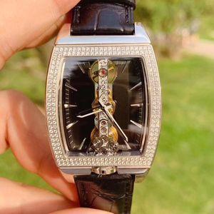CORUM 昆仑金桥型号113.151.69白金材质原镶钻石手动机械手表