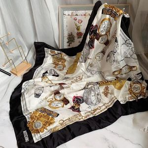 Moschino 莫斯奇诺钟表丝巾