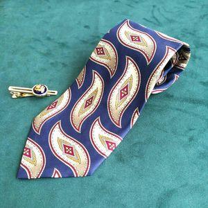 Dior 迪奥LD04018男士重磅真丝印花时尚领带