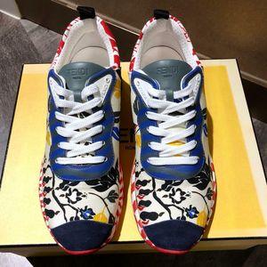 FENDI 芬迪花卉运动鞋