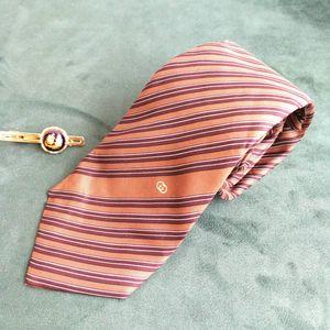 GUCCI 古驰LD05013男士重磅真丝印花商务领带