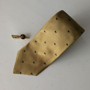 Burberry 博柏利LD04002男士重磅真丝印花时装领带