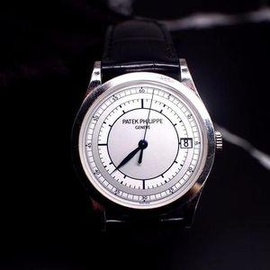 PATEK PHILIPPE 百达翡丽古典系列5296G-001白金自动机械腕表