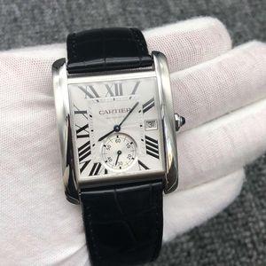 Cartier 卡地亚男士机械腕表