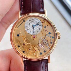 Breguet 宝玑7027黄金材质传世系列手动机械表