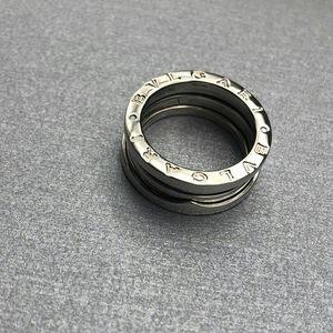 BVLGARI 宝格丽B.zero1系列白金四环戒指