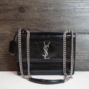 Yves Saint Laurent 伊夫·圣罗兰银标银链链条包