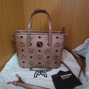 MCM  菜篮子手提包