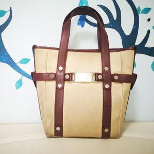 BVLGARI 宝格丽琴谱手提包