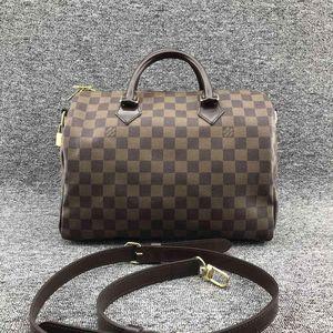 Louis Vuitton 路易·威登女士棋盘格枕头手提包