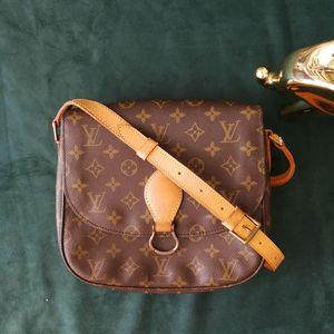 Louis Vuitton 路易·威登DJ03016中号马鞍包老花单肩包
