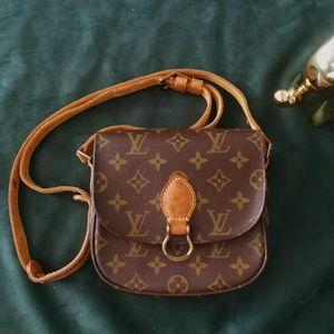 Louis Vuitton 路易·威登DJ03013小号马鞍包老花单肩包