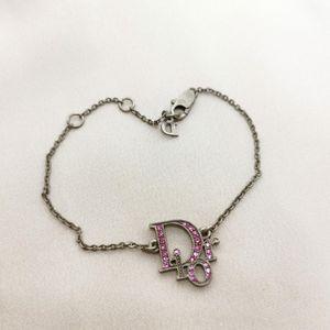 Dior 迪奥水钻正品中古手链