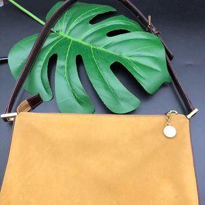 BVLGARI 宝格丽麂皮绒拼色黄色棕色金饼扣中古vintage单肩包