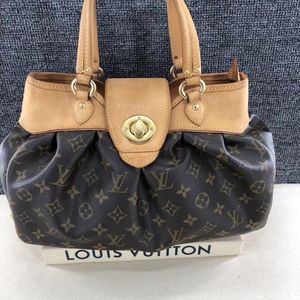 Louis Vuitton 路易·威登女生老花手提单肩包