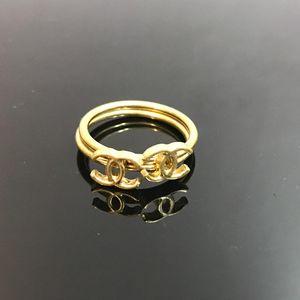 CHANEL 香奈儿可分拆复古双C戒指