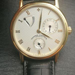 Vacheron Constantin 江诗丹顿18k自动机械男士手表