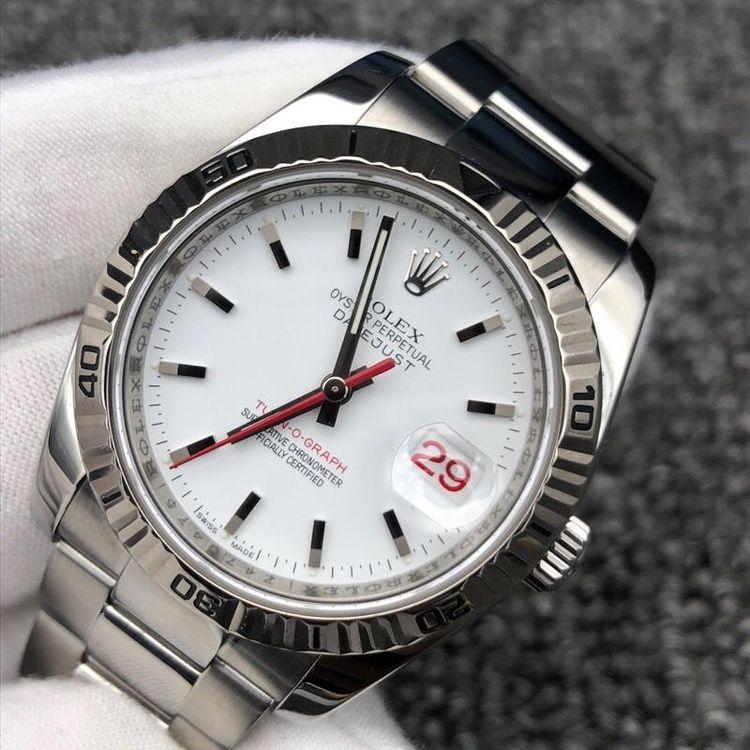 Rolex 劳力士日志型爬山虎自动机械腕表