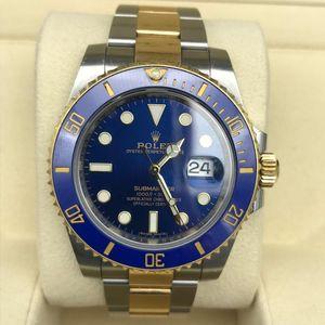 Rolex 劳力士蓝金鬼自动机械手表