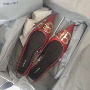 Balenciaga 巴黎世家尖头平底鞋