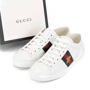 GUCCI 古驰Ace系列蜜蜂刺绣运动休闲鞋