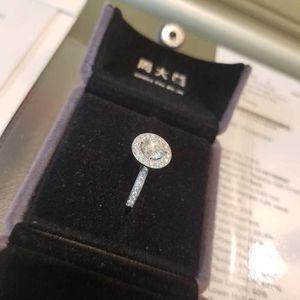 钻石  周大福钻石戒指