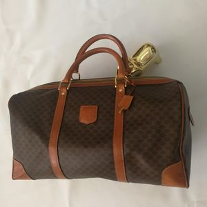 Celine 赛琳LX03012波士顿老花45手提包