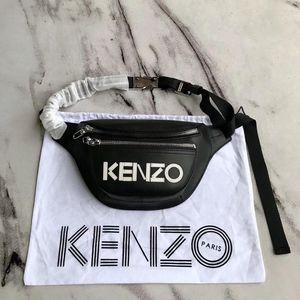 KENZO 高田贤三字母logo腰包