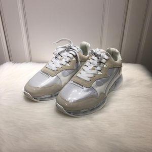 Alexander Wang 亚历山大王女士时尚拼皮休闲鞋