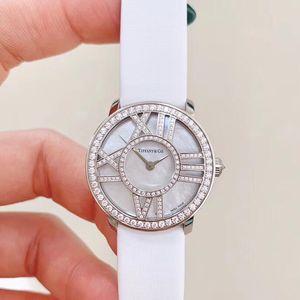 Tiffany & Co. 蒂芙尼白金原钻女士石英表