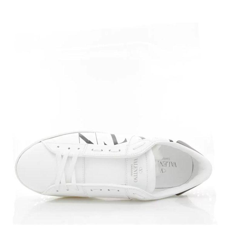 Valentino 华伦天奴男士真皮小白鞋低帮休闲鞋