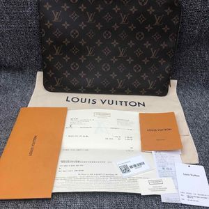 Louis Vuitton 路易·威登老花大号手拿包