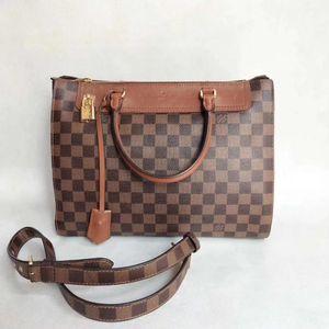 Louis Vuitton 路易·威登棋盘手提单肩包