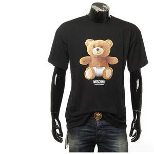 Moschino 莫斯奇诺内裤小熊OVER SIZE 宽版男士短袖T恤