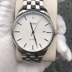 Mido 美度M024.407.11.031.00布鲁纳系列男士自动机械腕表