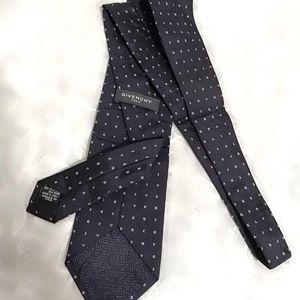 GIVENCHY 纪梵希满logo领带