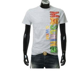 Moschino 莫斯奇诺彩色字母糖果小熊短袖T恤