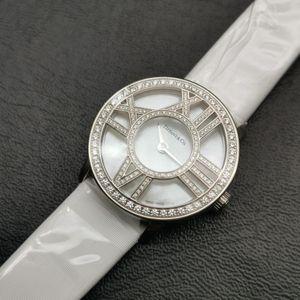Tiffany & Co. 蒂芙尼18k白金女士手表贝母盘女表