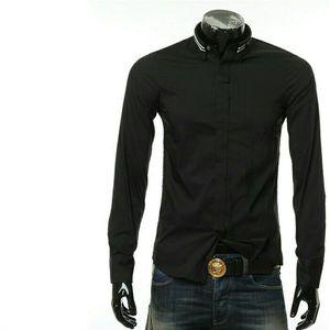 Emporio Armani  阿玛尼男士修身长袖衬衫