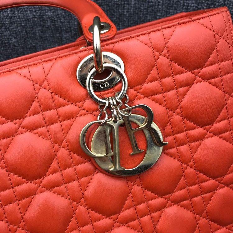 Dior 迪奥戴妃七格手提单肩包