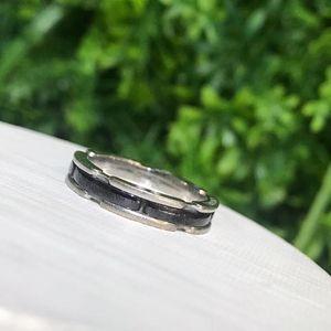CHANEL 香奈儿AU750黑色陶瓷戒指