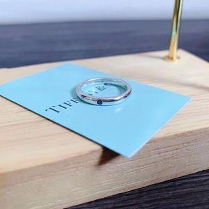 Tiffany & Co. 蒂芙尼蓝宝石戒指
