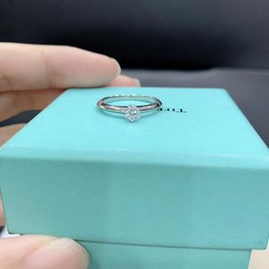 Tiffany & Co. 蒂芙尼钻石戒指