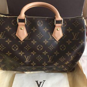 Louis Vuitton 路易·威登老花30手提包